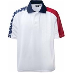 AKWA MADE IN USA Patriotic Polo