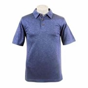 AKWA Made in U.S.A. Slub Polo