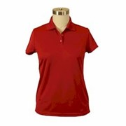 AKWA LADIES' Made in U.S.A. Bamboo Polo