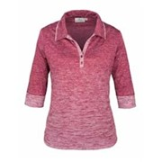 AKWA LADIES' Made in the U.S.A 3/4 Sleeve Polo