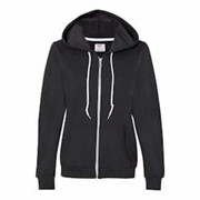 ANVIL LADIES' Full Zip Hooded Sweatshirt