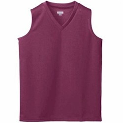 Augusta GIRLS Mesh Sleeveless Jersey