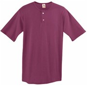 Augusta Two-Button Baseball Jersey