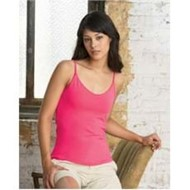 Bella | Bella LADIES' Cotton/Spandex Shelf Bra Tank