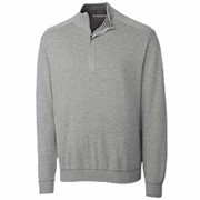 Cutter & Buck TALL Broadview Half Zip Sweater