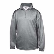 BADGER Pro Heathered Fleece 1/4 Zip