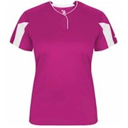 Badger LADIES' Striker Placket Jersey