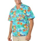 Blue Generation Tropic Print Camp Shirt