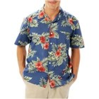 Blue Generation Floral Print Camp Shirt
