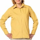 Blue Generation LADIES' L/S Budget Friendly Poplin
