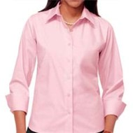 Blue Generation | BG Ladies Stretch Poplin Blouse