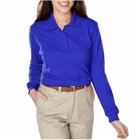 Blue Generation LADIES' L/S Polo