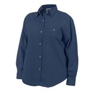 Blue Pointe | Blue Pointe Ladies L/S Denim Shirt