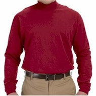 Devon & Jones | D&J Sueded Mock Turtleneck