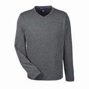 Devon & Jones Herringbone V-Neck Pullover