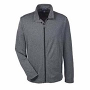 Devon & Jones Herringbone Full-Zip Jacket