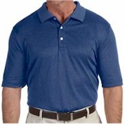 Devon & Jones Pima-Tech Jet Pique Heather Polo