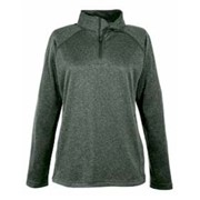 Devon & Jones LADIES' Stretch Tech-Shell 1/4 Zip