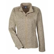 Devon & Jones LADIES' Sweater Fleece Jacket