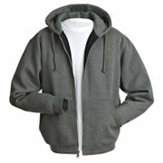 DRI Duck Cotton/Poly Crossfire Full Zip Sweatshirt