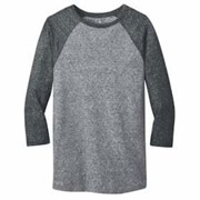 DISTRICT Young Mens Microburn 3/4-Sleeve Tee