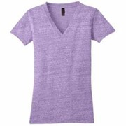 District Threads JUNIOR LADIES' Tri-Blend Tee