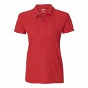 GILDAN LADIES' Performance Double Pique Polo