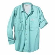 Hook & Tackle L/S Gulfstream Fishing Shirt