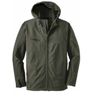 Port Authority | Port Authority Textured Hooded Soft Shell Jacket