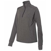 J America LADIES' Omega Stretch 1/4 Zip Pullover
