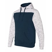 J America Melange Color Blocked Hood