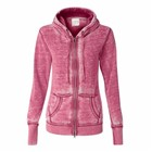 J America LADIES' Zen Full Zip Hood