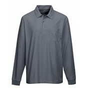 Tri-Mountain L/S Endurance Pocket Polo