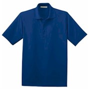 Port Authority Poly-Charcoal Blend Pique Polo