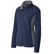 Port Authority LADIES' Colorblock Fleece Jacket