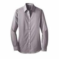Port Authority | Port Authority LADIES' Stripe Stretch Poplin Shirt