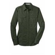 Port Authority | Port Authority LADIES' Stain Resistant Twill Shirt