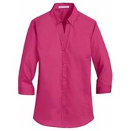 Port Authority | Port Authority LADIES' 3/4-Sleeve Twill Shirt