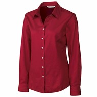 Cutter & Buck | CB LADIES' L/S Epic Easy Care Fine Twill