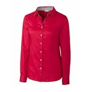 CLIQUE LADIES' Bergen Stain Resistant Twill Shirt
