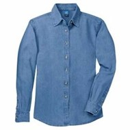 Port Authority | L/S P&C Ladies Value Denim Shirt