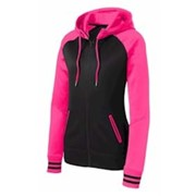 Sport-Tek LADIES' Sport-Wick Fleece Hooded Jacket