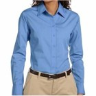 Harriton LADIES' 3.1oz Essential Poplin