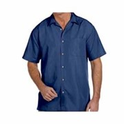 Harriton Barbados Textured Camp Shirt
