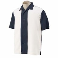 Harriton | Harriton Two-Tone Bahama Cord Camp Shirt