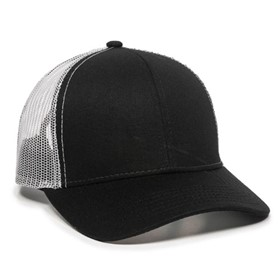 Outdoor Cap Plastic Snap Mesh Back Cap