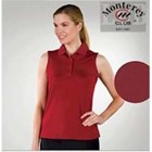 Monterey Club LADIES' Sleeveless Pique Shirt