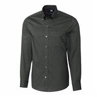 Cutter & Buck | Cutter & Buck L/S Tailored Fit Nailshead Shirt