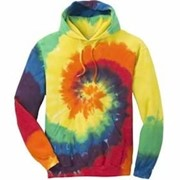 Port & Company Tie-Dye Pullover Hooded Sweatshirt