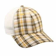 Outdoor Cap | Outdoor Cap Plaid Front with Mesh Back Cap